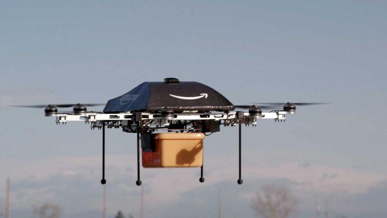 Bezorgdrone van Amazon. Beeld afp