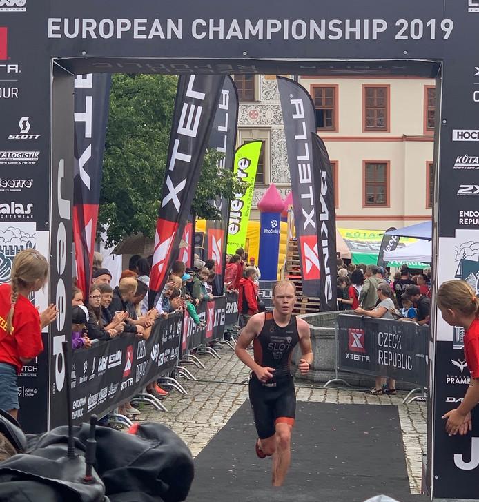 Ruben Slot werd vierde bij het EK.