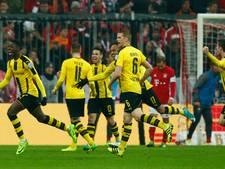Dortmund maakt achterstand goed en knikkert Bayern uit beker