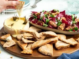 Wat Eten We Vandaag: Fondue van camembert met vijgensalade