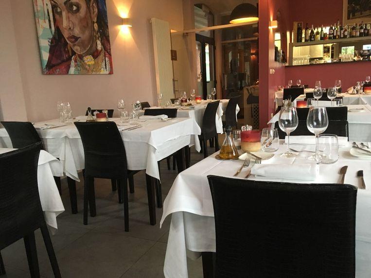 Het interieur van restaurant Al Dente
