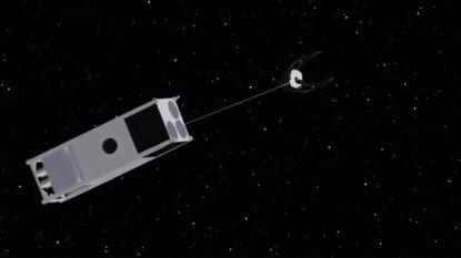 Ontmoet OSCaR, de kleine ruimtestofzuiger die 6 miljoen kilogram afval uit de ruimte moet verwijderen