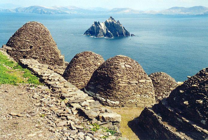 L'île de Skellig Michael.