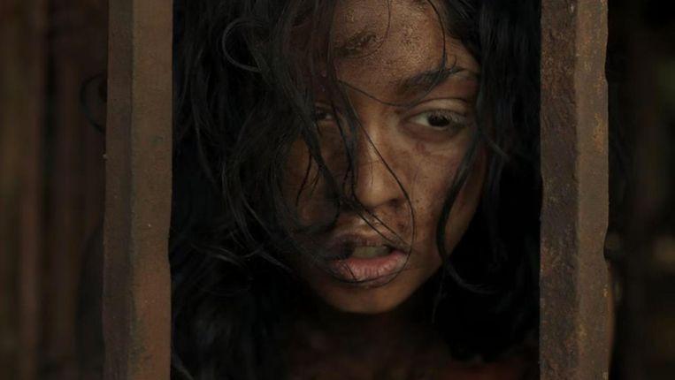 Beeld uit de film Mowgli van Andy Serkis. Beeld geen