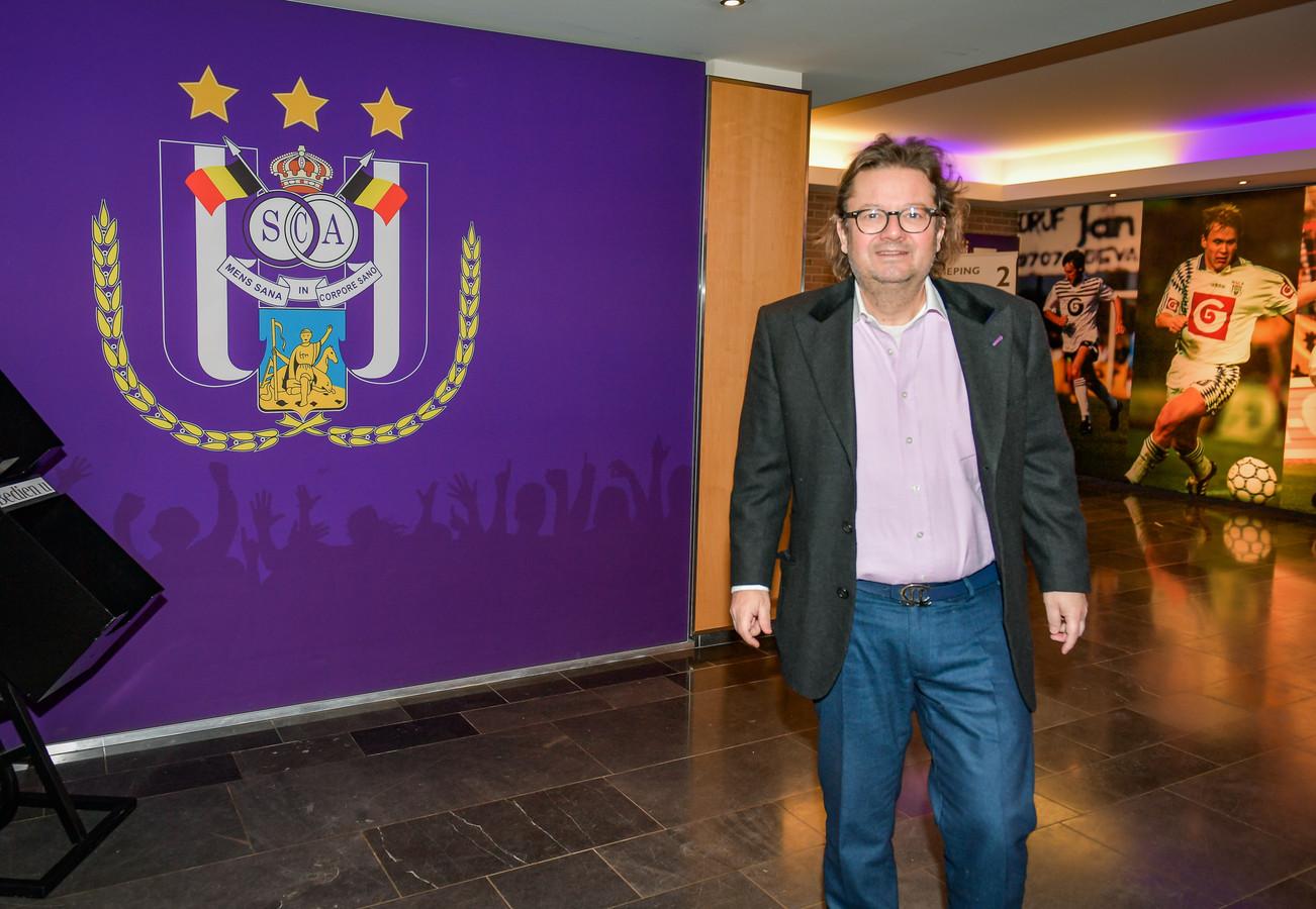 28 maart 2018: eerste officiële werkdag op Anderlecht (archiefbeeld).