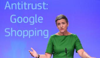 Europese Commissie geeft Google de hoogste boete ooit