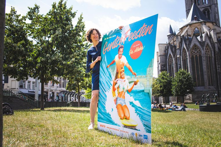 Annelies Storms begint binnen 10 dagen aan haar eerste Gentse Feesten als Feestenburgemeester.