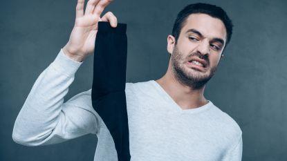 Man opgenomen in ziekenhuis na aan sokken te hebben geroken