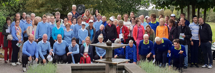 Deelnemers aan de 2e G Golf Open bij Prise d'Eau (2018)