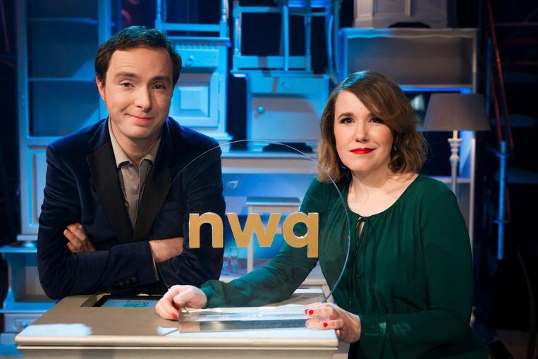 Pieter Hulst en Ionica Smeets. Beeld VPRO/Robert Lagendijk