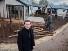 Oude stacaravans Droomgaard zijn vervangen door luxe vakantiewoningen op nieuwe EuroParcs Resort Kaatsheuvel