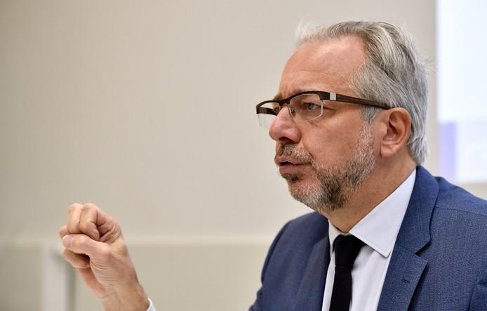 Jean-Paul Philippot, administrateur général de la RTBF.