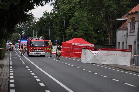 Dodelijk ongeval Destelbergen.