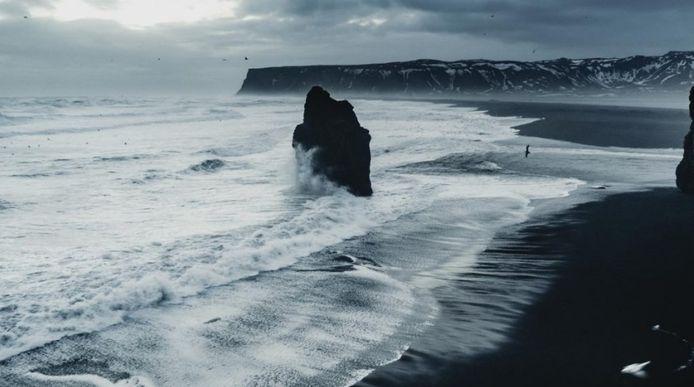 La plage où Elsa rencontre Nokk.