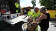Mobiel recyclagepark strijkt neer op twee locaties