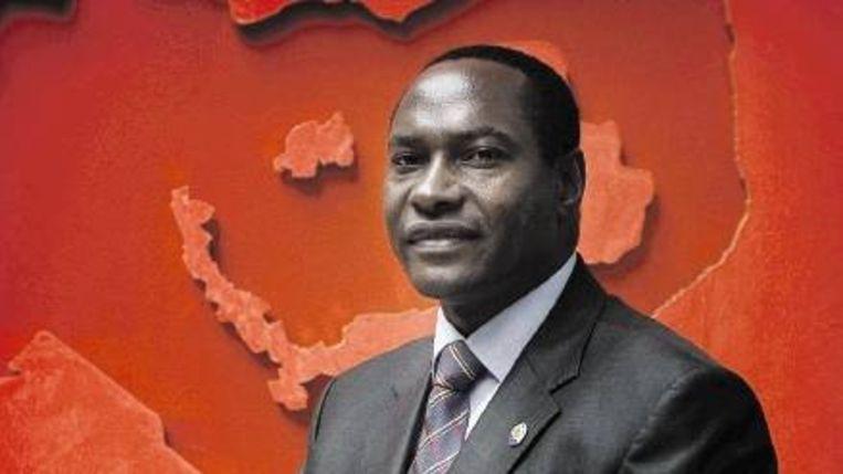 Burgemeester Sam Onyango Okello van de Keniaanse stad Kisumu: ¿Luo¿s zijn goede leiders.¿ (Joël van Houdt) Beeld