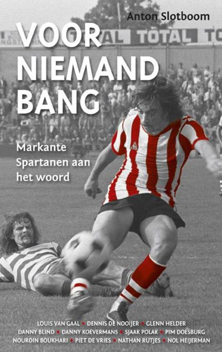 Nol Heijerman op de cover van Voor niemand bang. Beeld Coolegem Media