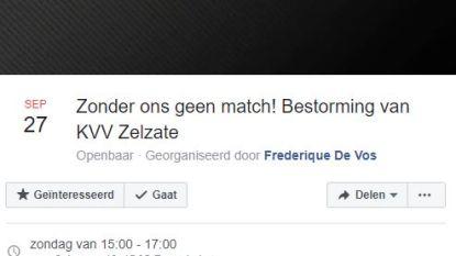 """KVV-Lokeren Temse volledig uitverkocht, facebookevent roept Lokeren-supporters op toch massaal af te zakken: """"We bestormen KVV   Zelzate"""""""