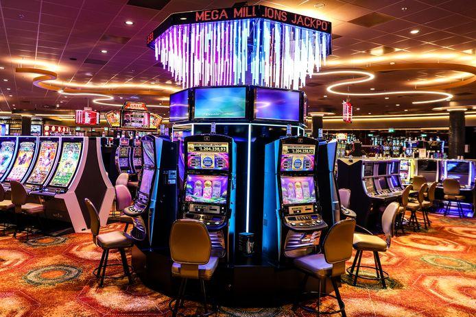 Mega Millions automaat in het casino.