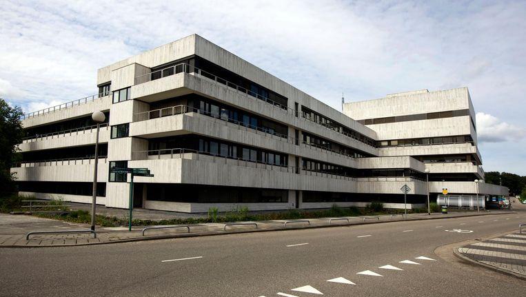 Het gebouw van de NPO in Hilversum Beeld anp