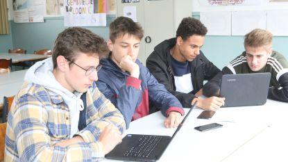 Leerlingen Sint-Jozefscollege krijgen elk een laptop voor leertraject op eigen tempo