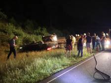 Meerdere gewonden bij ongeluk op A50 bij Arnhem, politie verricht aanhouding