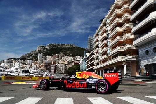 Max Verstappen tijdens de GP van Monaco