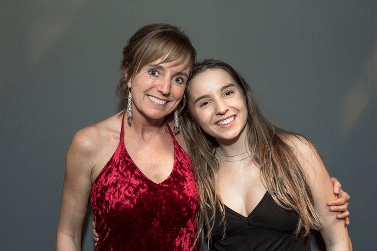 An en dochter Yara op de première van 'F.C. De Kampioenen Forever'.