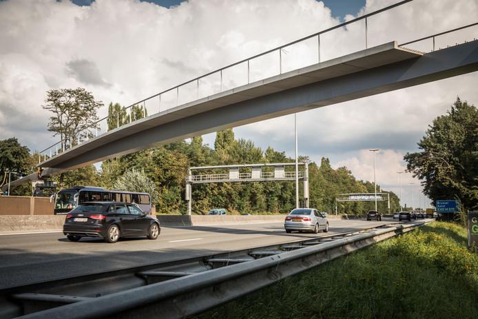 Tot en met 4 oktober zal er geen fietsverkeer zijn over de Parkbosbruggen