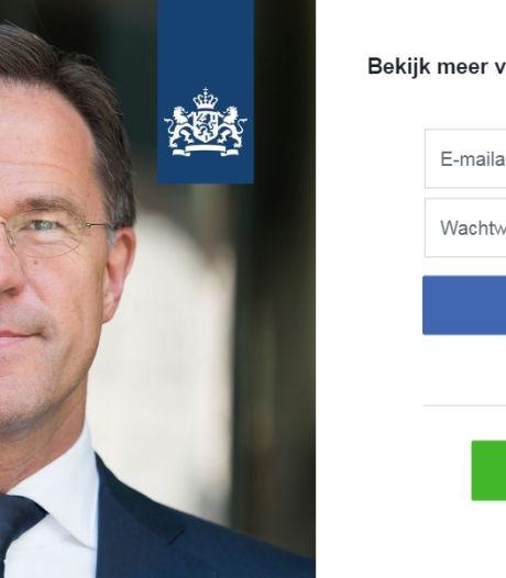 De premier communiceert via Facebook. Is dat erg?