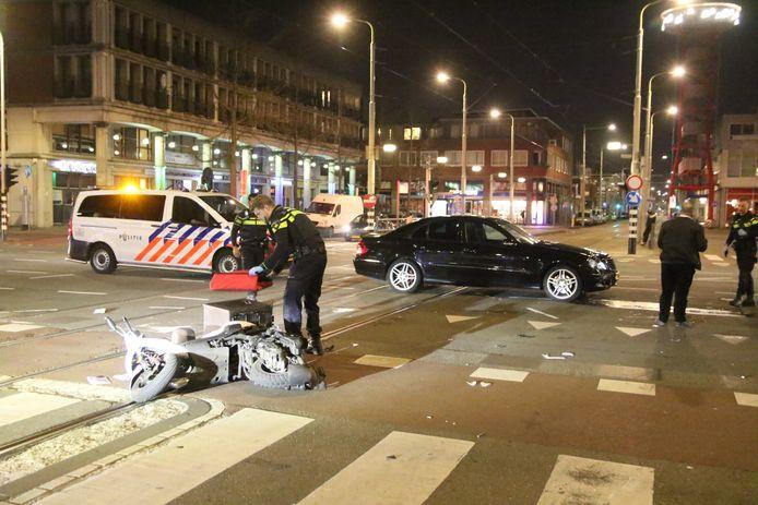 Het incident vond plaats op de kruising van de Hobbemastraat met de Vaillantlaan.