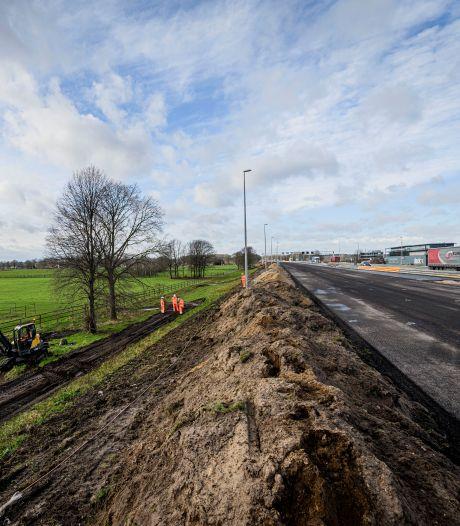 Langzaamaan keert het groen terug langs de A1 in Twente