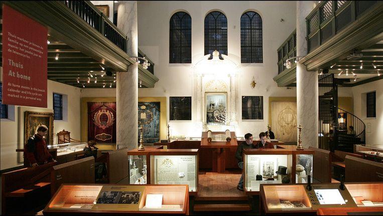 Binnenkant van het Joods Historisch Museum Beeld anp