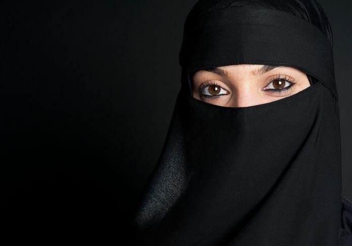 Beeld ter illustratie: Moslima met nikab