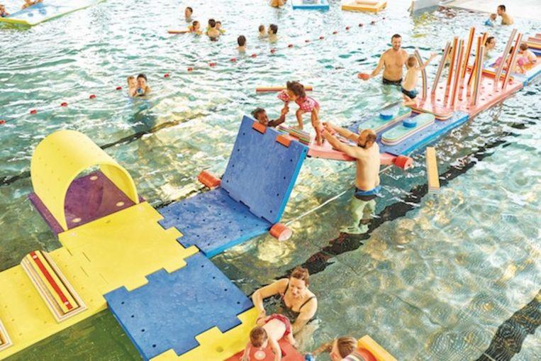 Zo ziet het er uit in het zwembad van Eeklo.