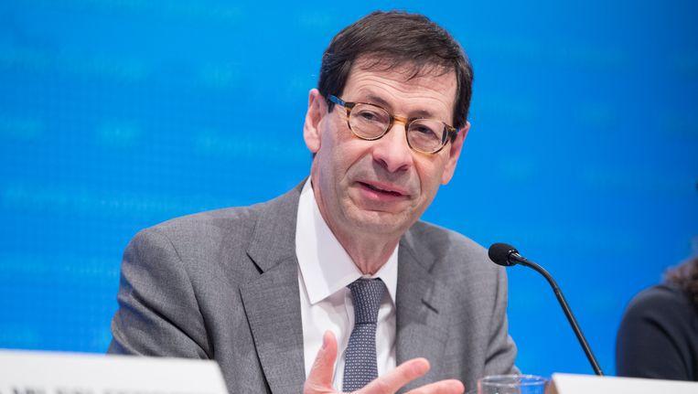 IMF-hoofdeconoom Maurice Obstfeld.