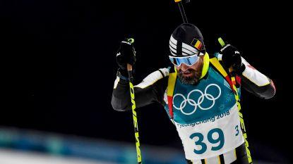Hier mist u niets van de Winterspelen: Biatleten Michael Rösch en Florent Claude plaatsen zich voor achtervolging