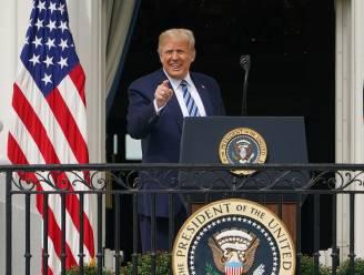 """Trump zegt dat hij """"compleet negatief"""" heeft getest op corona: """"Lijkt erop dat ik immuun ben"""""""