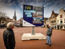 Stenen Markt Steenwijk alvast opgeruwd