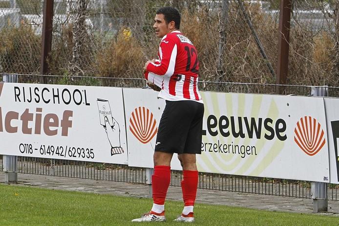 Vlissingen-voetballer Jarreau Manuhuwa