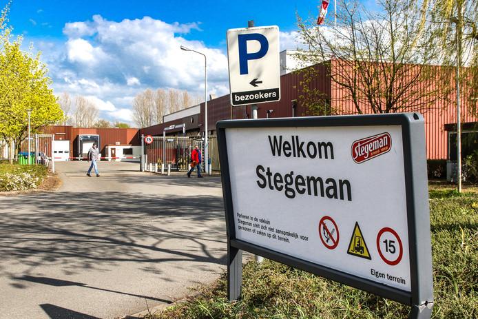 De locatie van vleesbedrijf Stegeman in Deventer.
