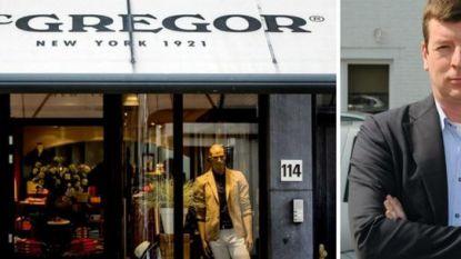 Weer faillissement voor McGregor en Gaastra