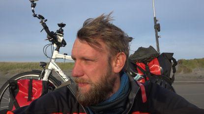 TV-maker die dwars door Amerika fietste te gast bij Fietsersbond en KWB