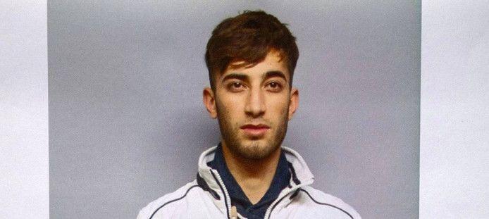 De Duitse politie gaf eerder deze foto van Ali Bashar vrij.