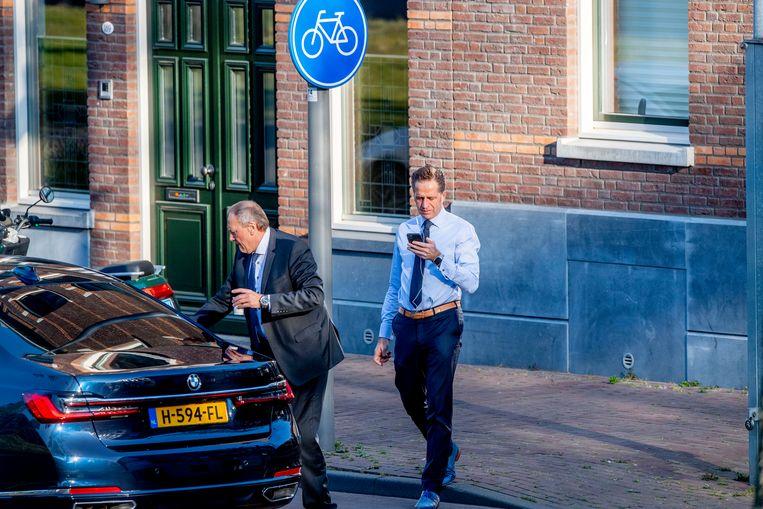 Minister Hugo de Jonge van Volksgezondheid, Welzijn en Sport is de verantwoordelijke minister als het om de corona-app gaat. Beeld Hollandse Hoogte / Robin Utrecht