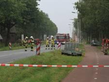 Zwolseweg tussen Zwolle en Kampen weer vrij na gaslek