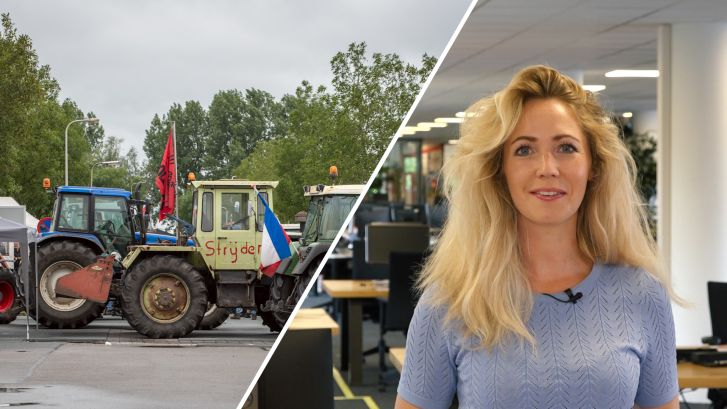 de Stentor Nieuws Update: AH-supermarkten zonder bevoorrading door boze boeren