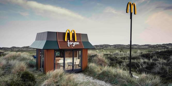 Mini-McDonald's reist het land rond