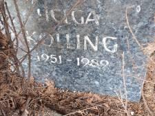 Mysterie in Dinxperlo: Van wie is deze toevallig gevonden grafsteen?