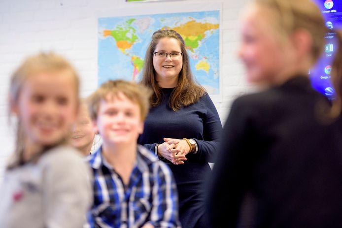 Naomi Derks is zijinstromer in het onderwijs.